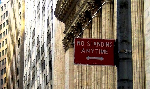 No_standing_anytime_skiltet