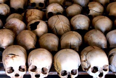 Stablet død fra folkedrabet i Rwanda 1994. Foto: Anders Aamand