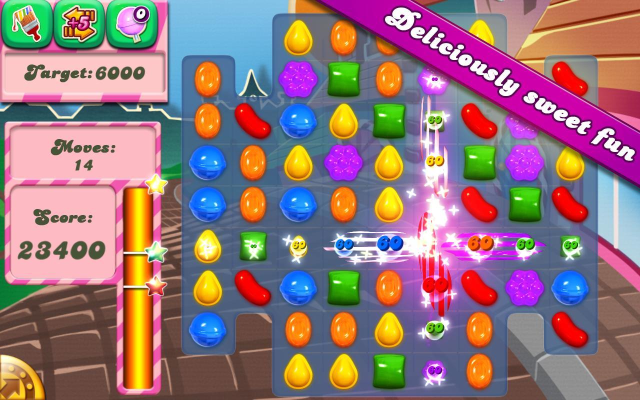 Candy Crush. Den nye dille fra App store, har afløst Angry Birds og måske Subway Surfer.
