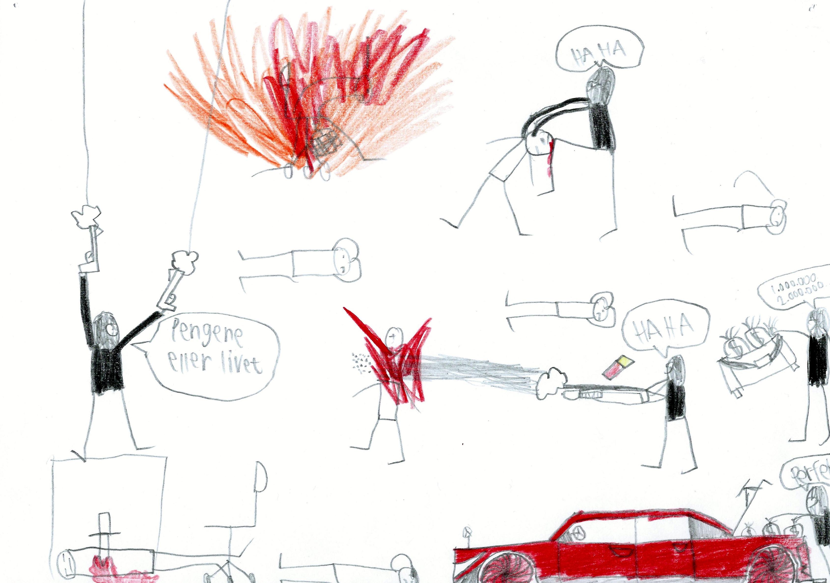 Medierne elsker vold. Og de fleste af os elsker lidt rask vold og selvtægt på film. Hvem gider se en film, der begynder, hvor eventyret slutter. Her er det Ruben, der har ladet sig inspirere af mercedesbanden fra Luc Bessons film Taxi fra 1998.