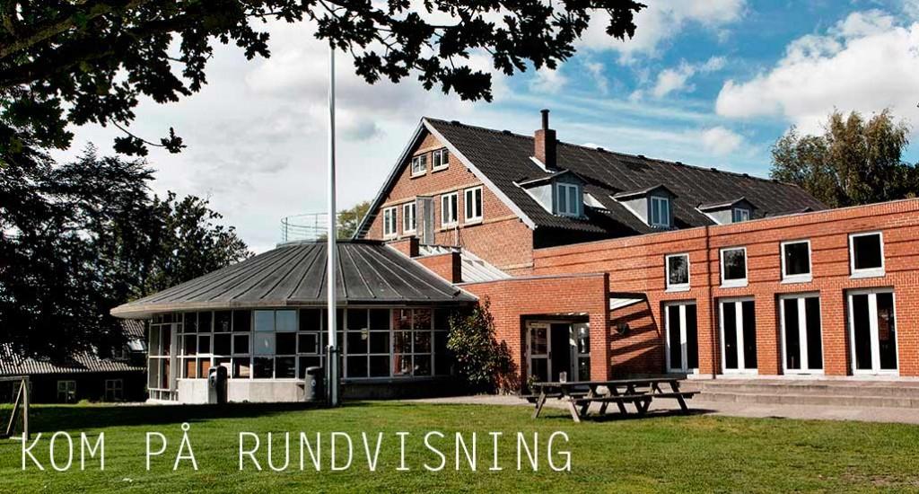 Himmelrummet på Egå Ungdoms-Højskole, hvor vi mødes til morgensamling og fællessang hver dag klokken 10.