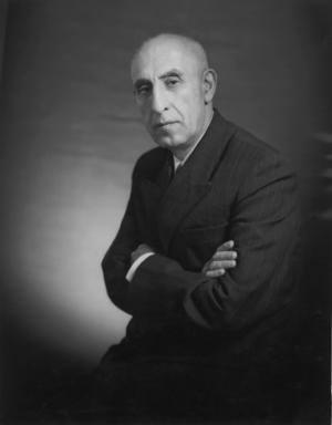 Mohammed Mosaddeq (1882 -1967) var den demokratisk valgte premierminister i Iran fra 1951 til 1953, hvor han blev fjernet ved et vestligt faciliteret statskup.